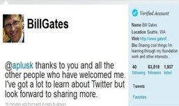 """@BillGates มี""""ทวิตเตอร์""""กับเขาแล้ว!!!"""