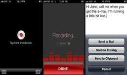 ฟรี!!! แอพฯสั่งไอโฟนให้พิมพ์ตามที่พูด