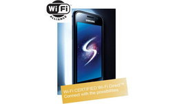 Samsung Galaxy S พร้อมรับ Wi-Fi Direct ก่อนใคร