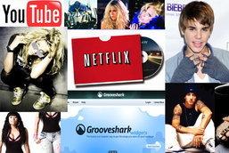 10 อันดับการค้นหาจาก Google ในปี 2010 ( หมวดบันเทิง )