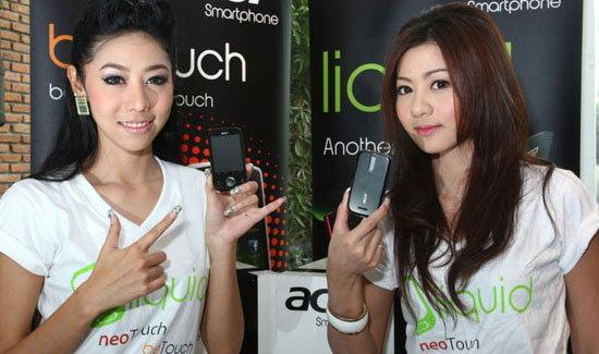 Acer ลุยตลาดในไทยกับสองรุ่นใหม่ beTouch E110 และ E400 Series