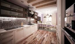 Modern Kitchen เรียบ หรู ดูดี