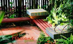 สวนเปอร์เซียขนาดเล็กที่หลากสี Mini Persians Garden