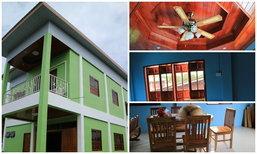 """พาชม """"บ้านเดี่ยวริมคลอง"""" ในกรุงเทพฯ สร้างด้วยเงินเก็บ หลังใหญ่เกินฝัน"""