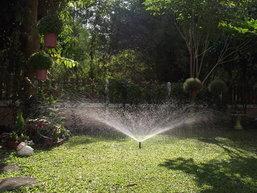 ระบบน้ำสวนหย่อมทำเอง