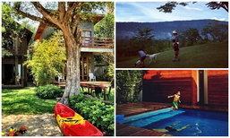"""""""บ้าน  3 หลังของเคน ธีรเดช"""" ครบทุกวิว ทะเล ภูเขา สระว่ายน้ำ"""