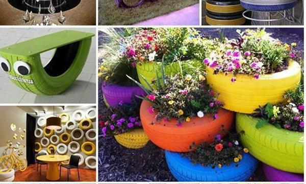 สุดยอดไอเดีย.. เนรมิตสวนสวยหน้าบ้านสไตล์คลาสสิคจากของเหลือใช้