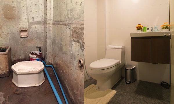 รีโนเวท ห้องน้ำเก่าให้น่าใช้ น่านั่ง