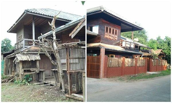 บ้านเก่าราคา 8 แสน แปลงโฉมใหม่จนกลายเป็นบ้านหรู