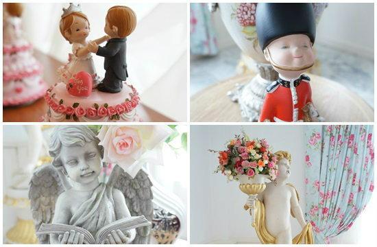 ตุ๊กตาแต่งบ้านสำหรับคู่รัก เสริมบรรยากาศให้หวานโรแมนติก
