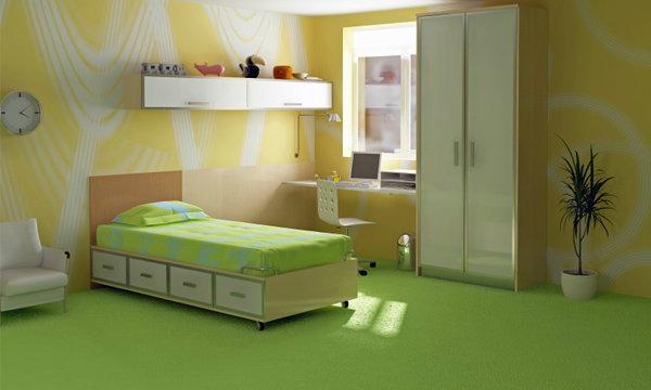 แต่งห้องนอนลูก แบบประหยัด และปลอดภัย