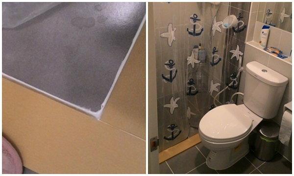 DIY แบ่งห้องน้ำส่วนเปียก-แห้ง ทนทานนับ 10 ปี งบ 1 พัน ทำได้ทุกบ้านที่มีห้องน้ำ