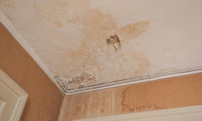 5 ขั้นตอนจัดการคราบน้ำบนเพดาน ให้กลับมาแจ่มแจ๋วเหมือนใหม่