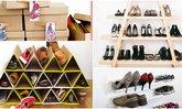 ไอเดียสร้างสรรค์สำหรับการจัดเก็บรองเท้าของคุณให้เป็นระเบียบ สวยงาม!
