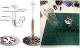 DIY ที่ดักเส้นผมในท่อน้ำทิ้งจากขวดน้ำและเชือก ไม่ต้องเสียเงินซื้อ!!