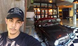 บ้านกิก ดนัย สไตล์ American Industrial ผสมผสานระหว่างบ้านกับโรงรถ