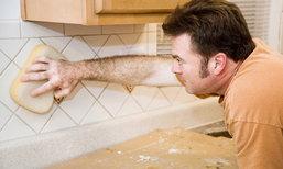 4 ขั้นตอนง่าย ๆ ในการทำความสะอาดยาแนว