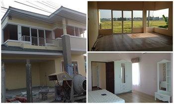 รีวิว สร้าง บ้านใหม่ ที่บ้านนอกเพื่อเตี่ยและแม่