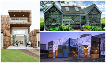 """มีอยู่จริง """"บ้านจากเศษขยะ"""" สร้างสรรค์ รักษ์โลก"""