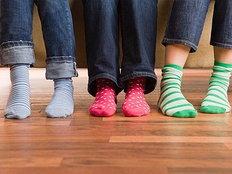 ความหมายของสีถุงเท้าและถุงน่อง