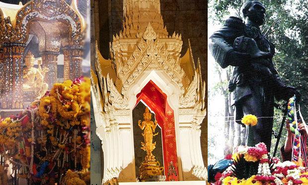 6 สถานที่่ขึ้นชื่อ ที่คนนิยมไปบนบานสิ่งศักดิ์สิทธิ์