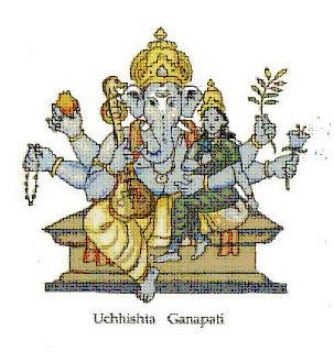 พระอุจฉิษฏะ คณปติ (Uchhishta Ganapati)