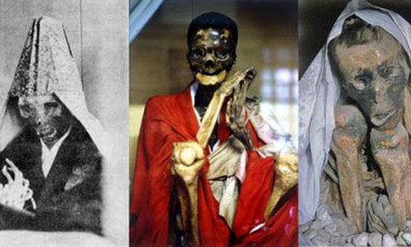 มัมมี่พระญี่ปุ่น (Mummies of Japan) การปฏิบัติเพื่อการหลุดพ้น