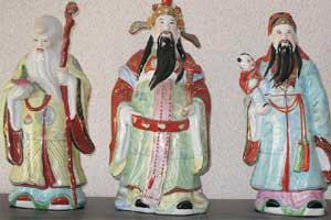 ฮก ลก ซิ่ว สัญลักษณ์แทนความมงคล 3 ประการของจีน