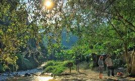ครอบครัวคุณ Busara Chonvanichkun อุทยานแจ้ซ้อน ลำปาง