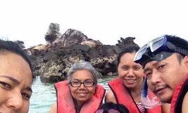 ครอบครัวคุณ Oct-Nutthayah Luewan เกาะไข่ จังหวัดภูเก็ต
