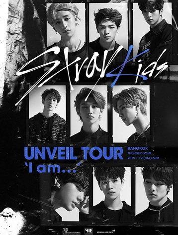 Stray Kids UNVEIL TOUR 'I am …' in BANGKOK