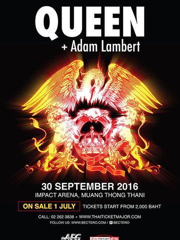 Queen + Adam Lambert On Tour in Bangkok