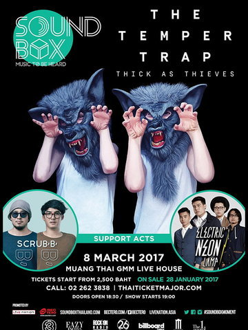 Soundbox The Temper Trap Thick as Thieves