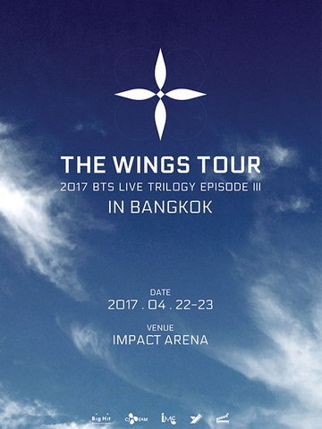 2017 BTS LIVE TRILOGY EPISODE III THE WINGS TOUR in Bangkok