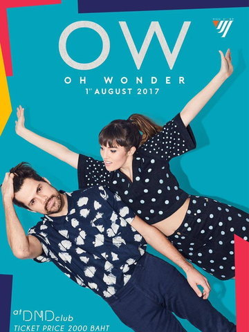 Oh Wonder Live in Bangkok 2017