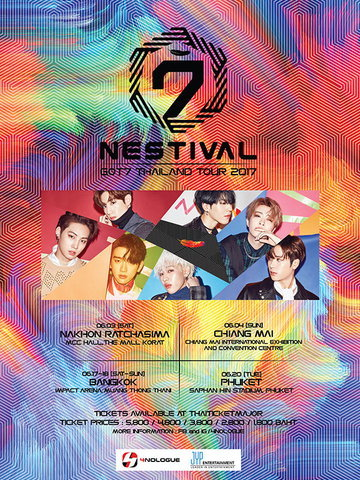 GOT7 THAILAND TOUR 2017 ''NESTIVAL''