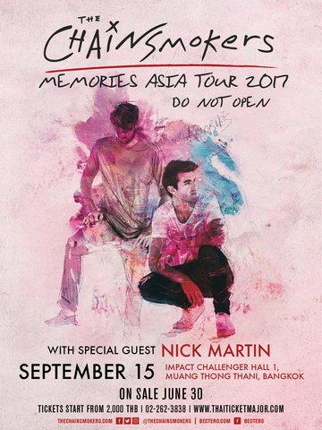 Heineken presents The Chainsmokers Memories Do not Open Asia Tour 2017