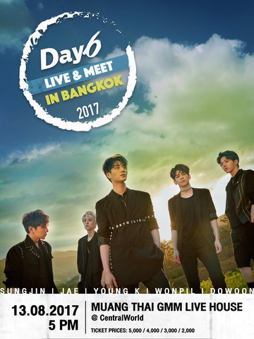 DAY6 LIVE & MEET IN BANGKOK 2017