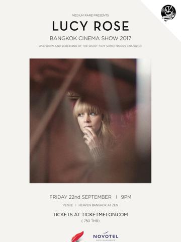 Lucy Rose Bangkok Cinema Show 2017
