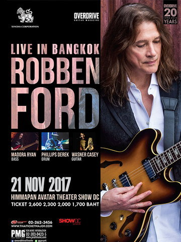 ROBBEN FORD LIVE IN BANGKOK