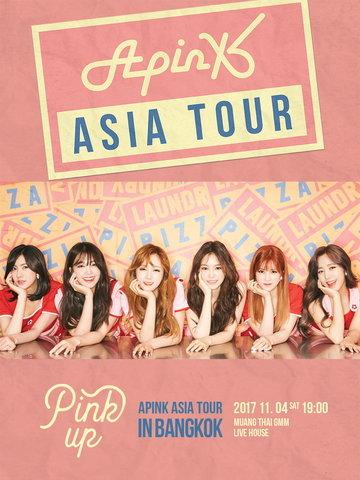 2017 Apink Asia Tour [Pink Up] in Bangkok