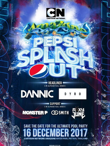 Cartoon Network Amazone Presents Pepsi Splash Out 201