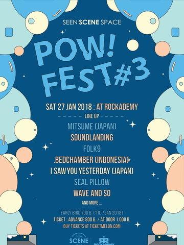 POW! FEST #3