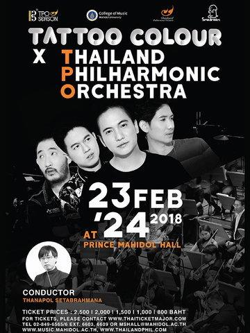 Tattoo Colour X Thailand Philharmonic Orchestra