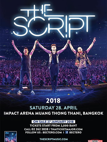 The Script Live in Bangkok 2018