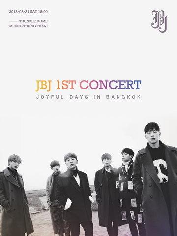 JBJ 1st CONCERT [JOYFUL DAYS] IN BANGKOK