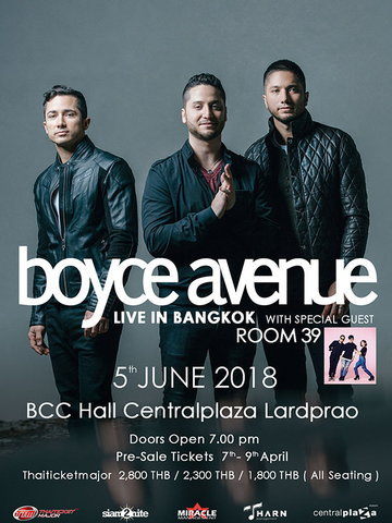 Boyce Avenue Live in Bangkok with Special Guest ROOM39