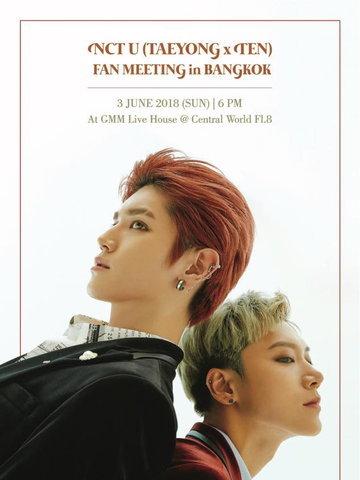 NCT U (TAEYONG x TEN) FAN MEETING in BANGKOK