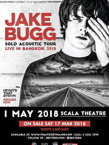 Jake Bugg Solo Acoustic Tour Live in Bangkok 2018