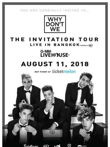Why Don't We - The Invitation Tour - Live in Bangkok 2018